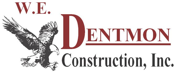 commercial contractors w.e. dentmon logo