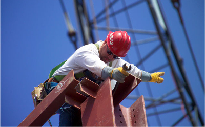 commercial contractors w.e. dentmon experience logo