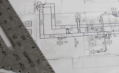 commercial contractors w.e. dentmon plan room logo